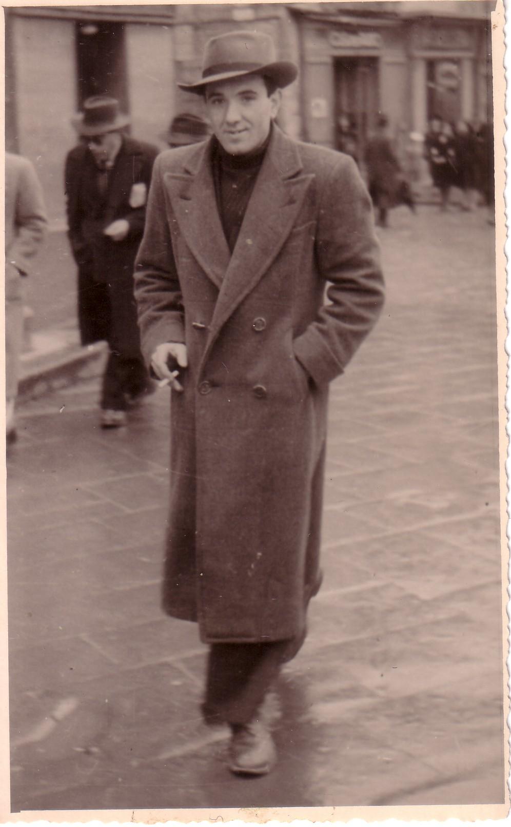 Cappotto uomo anni 20